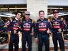 GP USA, 24.10.2015- Carlos Sainz Jr (ESP) Scuderia Toro Rosso STR10, Carlos Sainz Sr (ESP) Jos Verstappen (NED) e Max Verstappen (NED) Scuderia Toro Rosso STR10