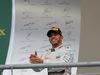 GP USA, 25.10.2015- Podium,  winner e 2015 F1 world champion Lewis Hamilton (GBR) Mercedes AMG F1 W06