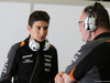TEST F1 BARCELLONA 12 MAGGIO, (L to R): Esteban Ocon (FRA) Sahara Force India F1 Team Test Driver with Tom McCullough (GBR) Sahara Force India F1 Team Chief Engineer. 12.05.2015.