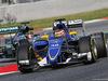 TEST F1 BARCELLONA 13 MAGGIO, Raffaele Marciello (ITA) Sauber C34 Test And Reserve Driver running sensor equipment. 13.05.2015.