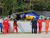TEST F1 BARCELLONA 13 MAGGIO, The Sauber C34 of Raffaele Marciello (ITA) Sauber C34 Test And Reserve Driver is recovered back to the pits. 13.05.2015.