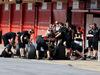 TEST F1 BARCELLONA 13 MAGGIO, Jolyon Palmer (GBR) Lotus F1 E23 Test e Reserve Driver in the pits. 13.05.2015.