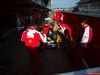 TEST F1 BARCELLONA 19 FEBBRAIO, Kimi Raikkonen (FIN) Ferrari SF15-T in the pits. 19.02.2015.