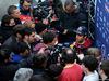 TEST F1 BARCELLONA 19 FEBBRAIO, Daniel Ricciardo (AUS) Red Bull Racing with the media. 19.02.2015.