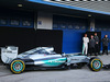 TEST F1 JEREZ 1 FEBBRAIO, The Mercedes AMG F1 W06 is revealed. 01.02.2015.