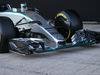 TEST F1 JEREZ 1 FEBBRAIO, Mercedes AMG F1 W06 front wing. 01.02.2015.