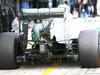TEST F1 JEREZ 2 FEBBRAIO, Mercedes AMG F1 W06 rear diffuser detail. 02.02.2015.