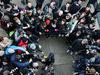 TEST F1 JEREZ 2 FEBBRAIO, Lewis Hamilton (GBR) Mercedes AMG F1 with the media. 02.02.2015.