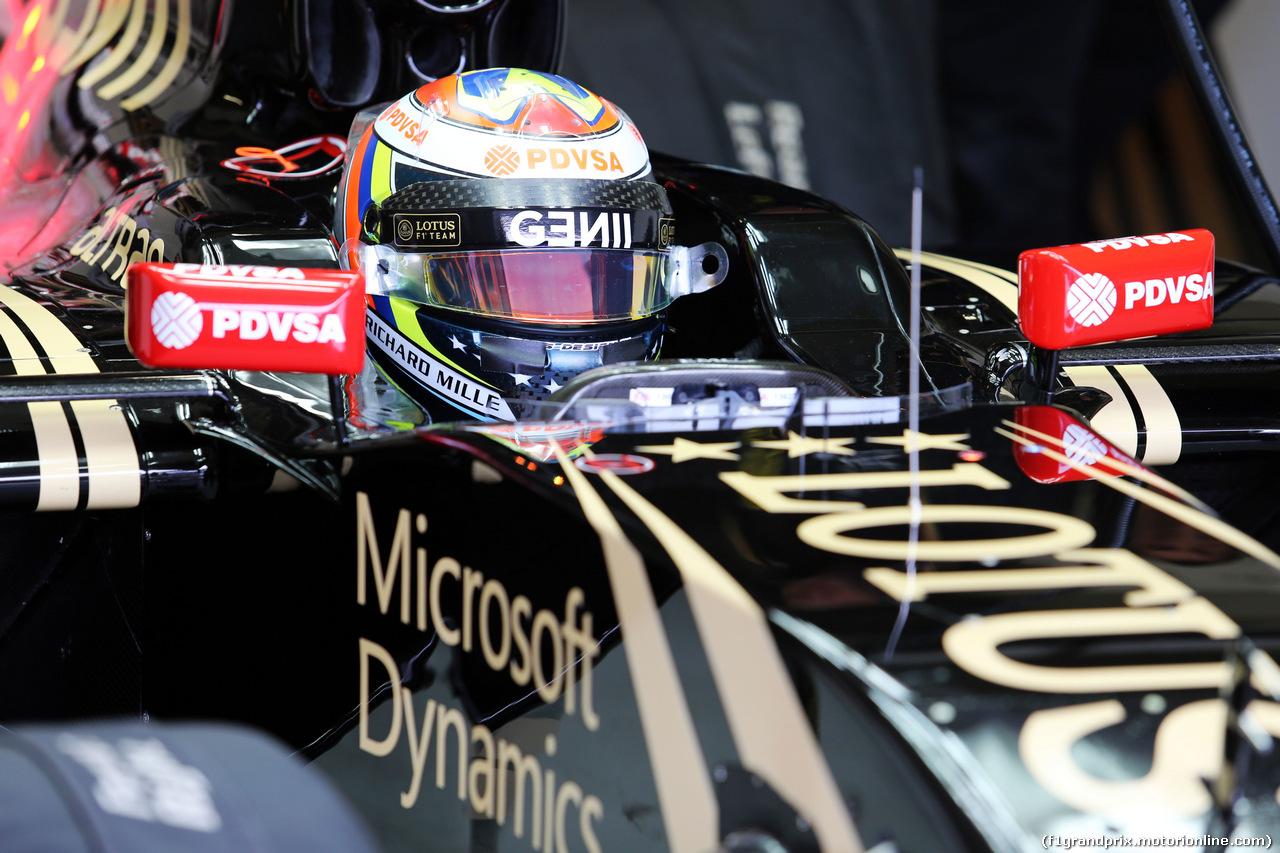 TEST F1 JEREZ 2 FEBBRAIO, Pastor Maldonado (VEN) Lotus F1 E23. 02.02.2015.