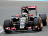 TEST F1 JEREZ 2 FEBBRAIO, Pastor Maldonado (VEN) Lotus F1 E23 - first run. 02.02.2015.