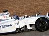 TEST F1 JEREZ 2 FEBBRAIO, Valtteri Bottas (FIN) Williams FW37 running sensor equipment. 02.02.2015.