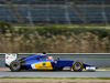 TEST F1 JEREZ 3 FEBBRAIO, Felipe Nasr (BRA) Sauber C34. 03.02.2015.