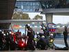 TEST F1 JEREZ 3 FEBBRAIO, Nico Rosberg (GER) Mercedes AMG F1 W06 practices a pit stop. 03.02.2015.