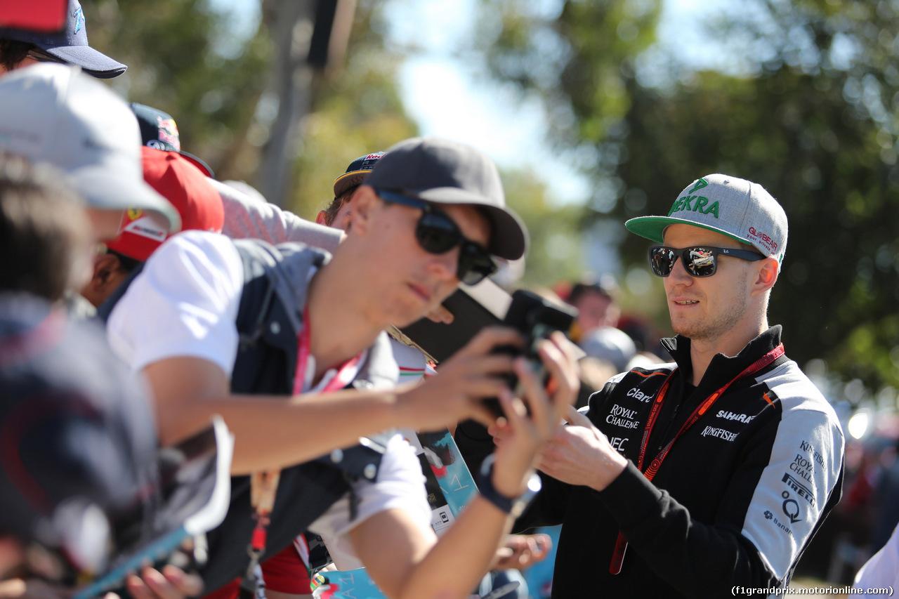 GP AUSTRALIA, 20.03.2016 - Nico Hulkenberg (GER) Sahara Force India F1 VJM09