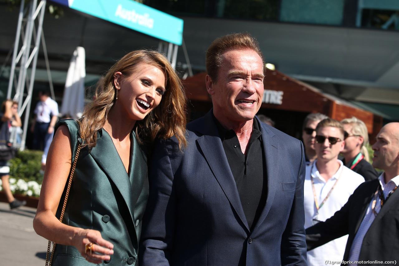 GP AUSTRALIA, 20.03.2016 - Arnold Schwarzenegger (AU), Actor