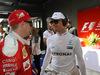 GP AUSTRALIA, 20.03.2016 - Kimi Raikkonen (FIN) Ferrari SF16-H e Nico Rosberg (GER) Mercedes AMG F1 W07 Hybrid