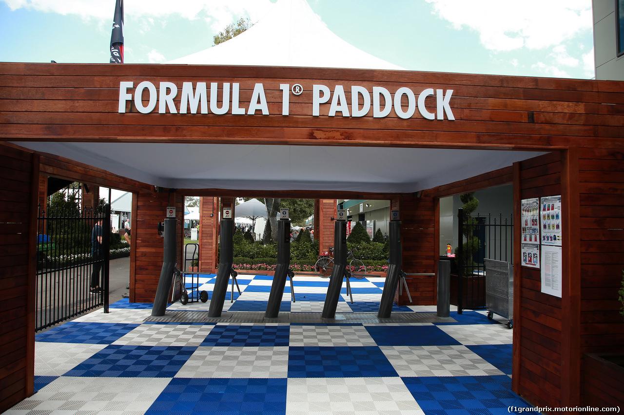 GP AUSTRALIA, 16.03.2016 - Preparation Day, Paddock