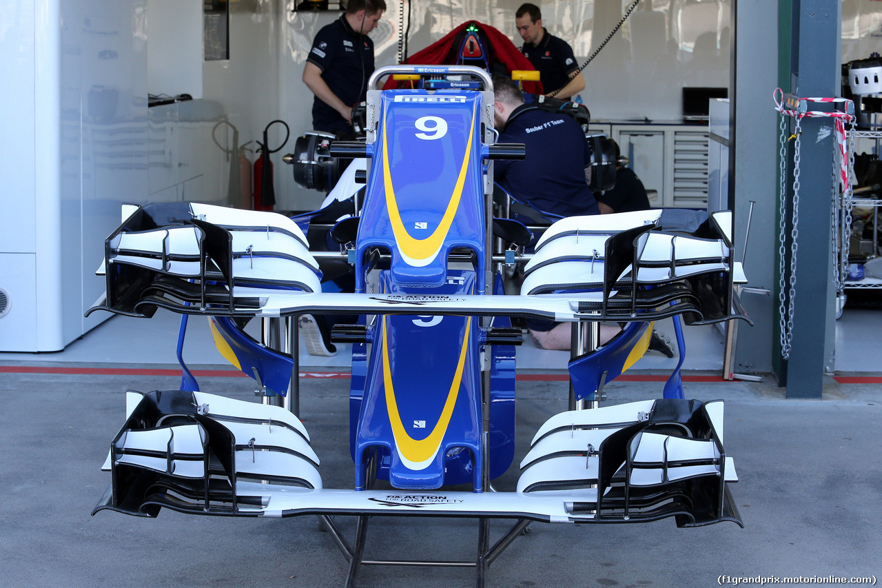 GP AUSTRALIA, 17.03.2016 - Sauber C34, detail