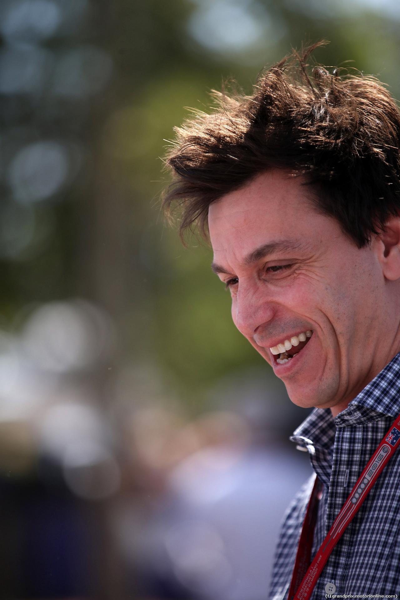 GP AUSTRALIA, 17.03.2016 - Toto Wolff (GER) Mercedes AMG F1 Shareholder e Executive Director