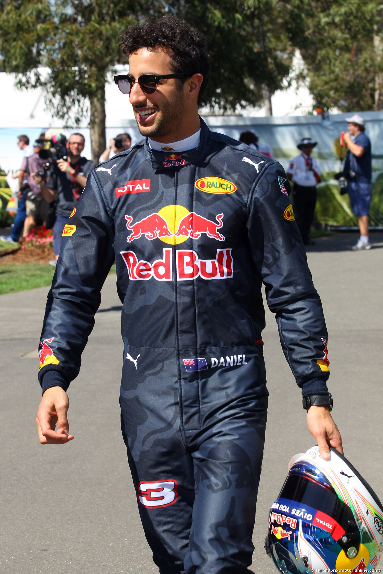 GP AUSTRALIA, 17.03.2016 - Daniel Ricciardo (AUS) Red Bull Racing RB12