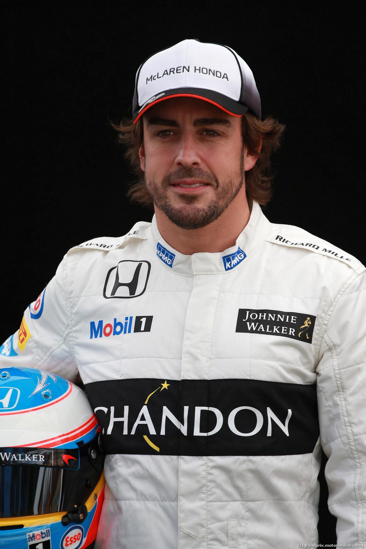 GP AUSTRALIA, 17.03.2016 - Fernando Alonso (ESP) McLaren Honda MP4-31