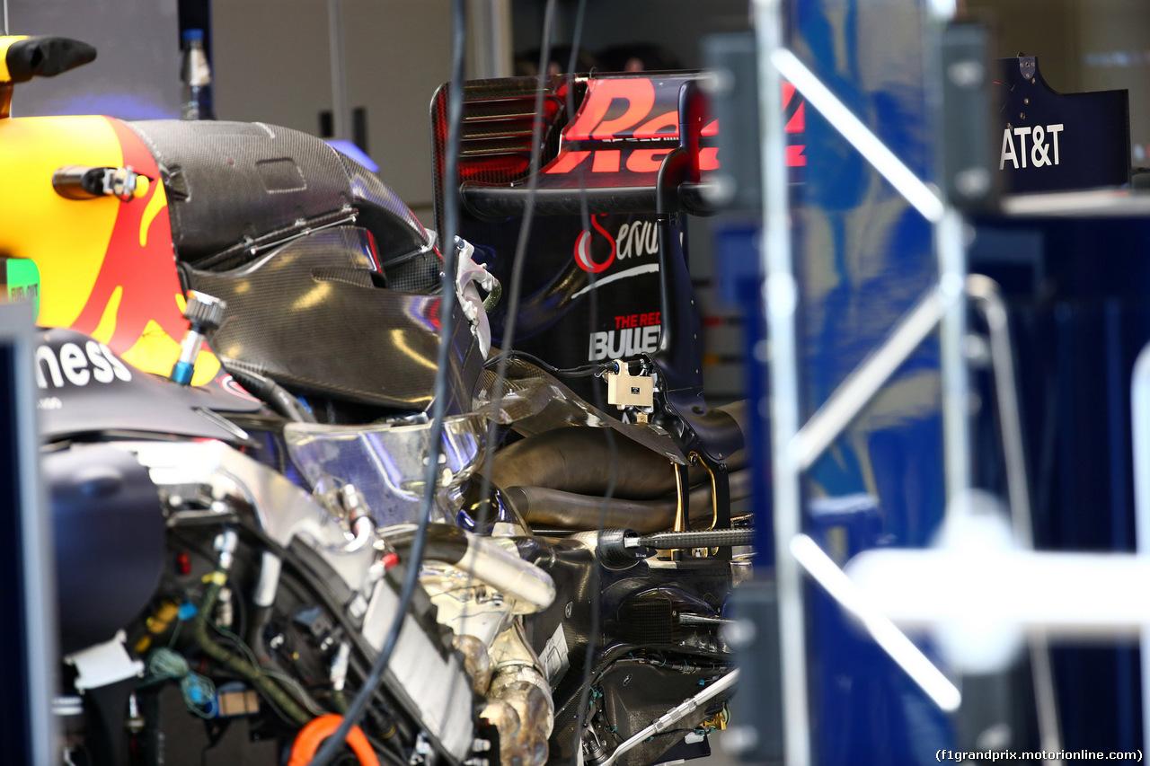 GP AUSTRALIA, 17.03.2016 - Red Bull Racing RB12, detail