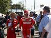 GP AUSTRALIA, 17.03.2016 - Britta Roeske (AUT) Ferrari Press Officer e Sebastian Vettel (GER) Ferrari SF16-H