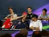 GP AUSTRALIA, 17.03.2016 - Conferenza Stampa, Esteban Gutierrez (MEX) Haas F1 Team VF-16, Jolyon Palmer (GBR) Renault Sport F1 Team RS16, Rio Haryanto (IND) Manor Racing MRT05, Sebastian Vettel (GER) Ferrari SF16-H, Daniel Ricciardo (AUS) Red Bull Racing RB12 e Lewis Hamilton (GBR) Mercedes AMG F1 W07 Hybrid