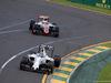 GP AUSTRALIA, 18.03.2016 - Free Practice 1, Valtteri Bottas (FIN) Williams FW38 davanti a Esteban Gutierrez (MEX) Haas F1 Team VF-16