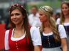 GP AUSTRIA, 03.07.2016 - Drivers Parade, griglia girls