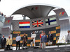 GP AUSTRIA, 03.07.2016 - Podium, From L to R: 2nd place Max Verstappen (NED) Red Bull Racing RB12, winner Lewis Hamilton (GBR) Mercedes AMG F1 W07 , 3rd place Kimi Raikkonen (FIN) Ferrari SF16-H