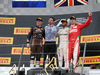 GP AUSTRIA, 03.07.2016 - Podium, from L to R: 2nd place Max Verstappen (NED) Red Bull Racing RB12, Mercedes AMG team representative, winner Lewis Hamilton (GBR) Mercedes AMG F1 W07, 3rd place Kimi Raikkonen (FIN) Ferrari SF16-H