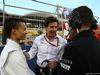 GP BAHRAIN, 03.04.2016 - Gara, Pascal Wehrlein (GER) Manor Racing MRT05 e Toto Wolff (GER) Mercedes AMG F1 Shareholder e Executive Director