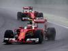 GP BRASILE, 13.11.2016 - Gara, Kimi Raikkonen (FIN) Ferrari SF16-H davanti a Sebastian Vettel (GER) Ferrari SF16-H