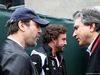 GP CANADA, 12.06.2016 - (L-R) Javier Bardem (ESP), Actor, Fernando Alonso (ESP) McLaren Honda MP4-31 e Pasquale Lattuneddu (ITA), FOM