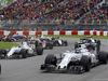 GP CANADA, 12.06.2016 - Gara, Felipe Massa (BRA) Williams FW38 e Valtteri Bottas (FIN) Williams FW38