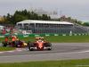 GP CANADA, 12.06.2016 - Gara, Kimi Raikkonen (FIN) Ferrari SF16-H e Daniel Ricciardo (AUS) Red Bull Racing RB12