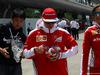 GP CINA, 17.04.2016 - Kimi Raikkonen (FIN) Ferrari SF16-H e Stefania Boccoli (ITA) Ferrari PR Officer