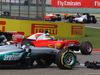 GP CINA, 17.04.2016 - Gara, Lewis Hamilton (GBR) Mercedes AMG F1 W07 Hybrid crashed