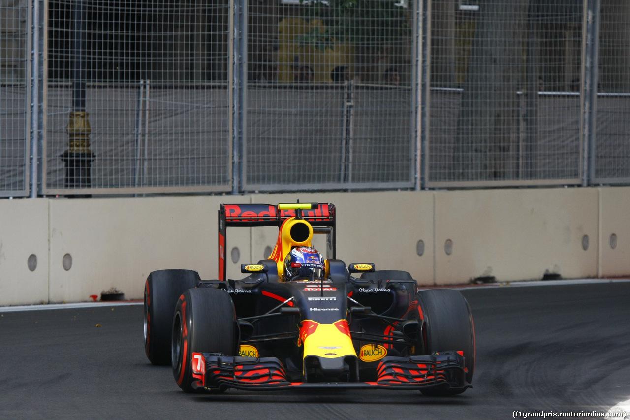 GP EUROPA, 19.06.2016 - Gara, Max Verstappen (NED) Red Bull Racing RB12