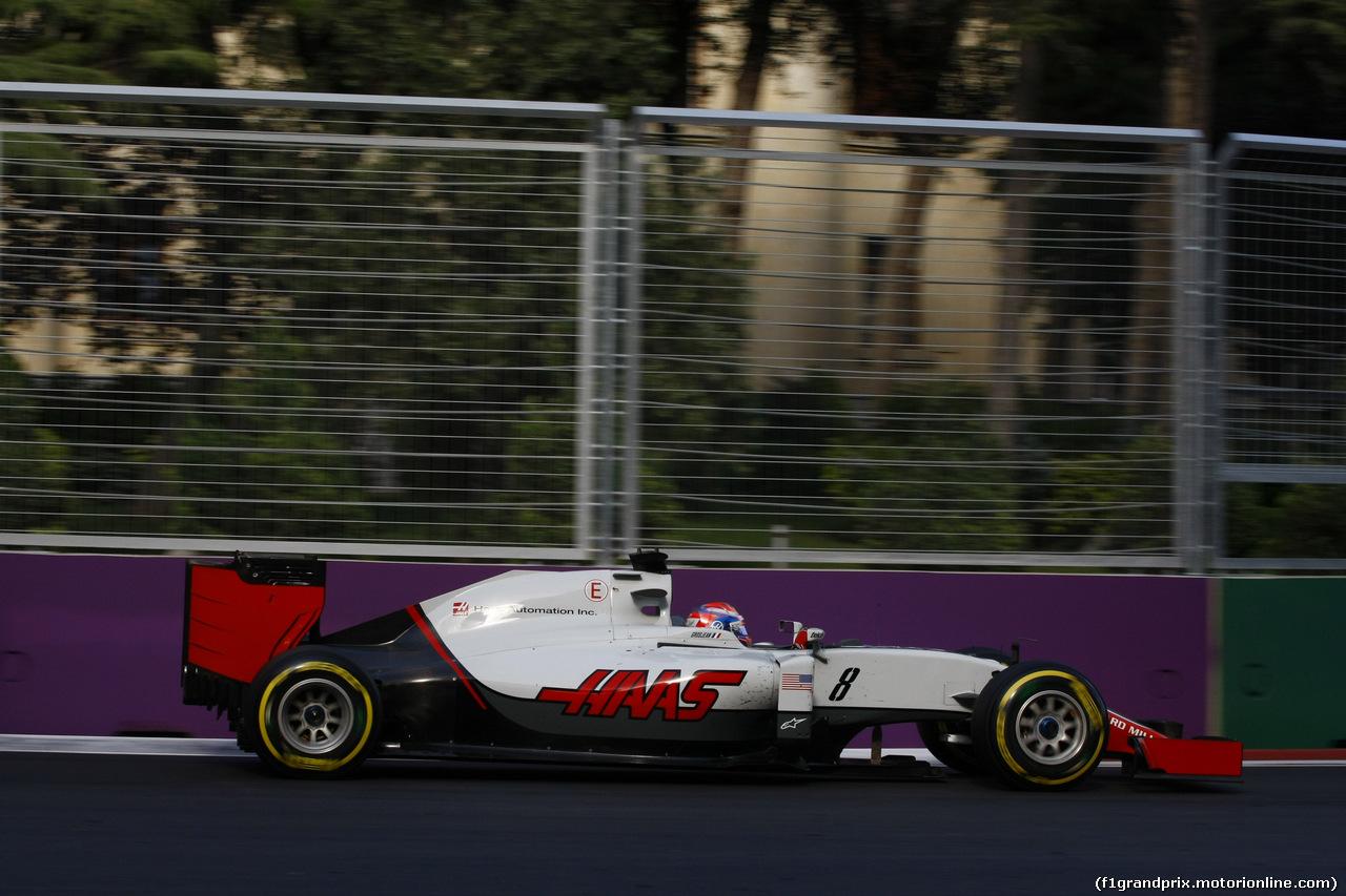 GP EUROPA, 19.06.2016 - Gara, Romain Grosjean (FRA) Haas F1 Team VF-16