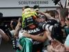 GP EUROPA, 19.06.2016 - Gara, terzo Sergio Perez (MEX) Sahara Force India F1 VJM09