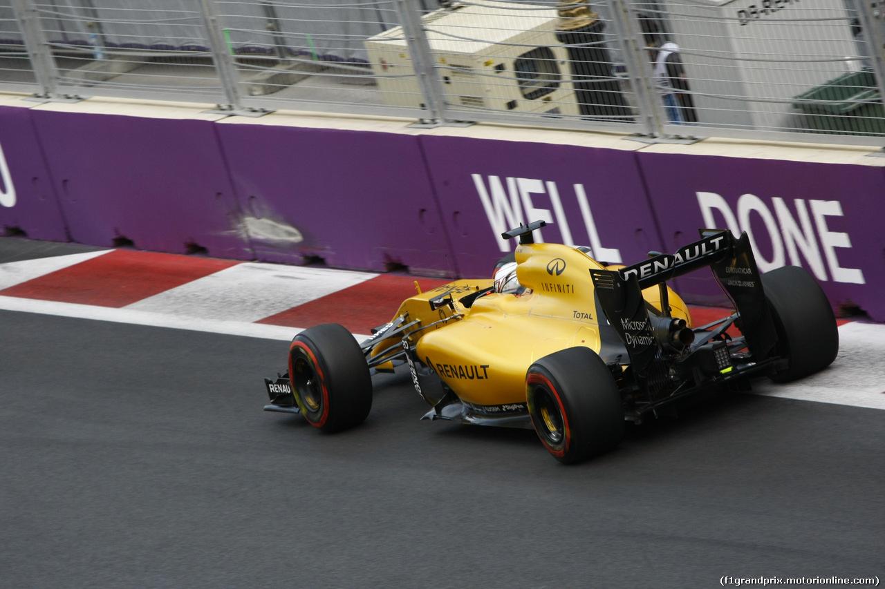 GP EUROPA, Qualifiche session, Kevin Magnussen (FIN) Renault F1 Team