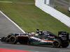 GP GERMANIA, 31.07.2016 - Gara, Sergio Perez (MEX) Sahara Force India F1 VJM09 e Fernando Alonso (ESP) McLaren Honda MP4-31