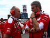 GP GERMANIA, 31.07.2016 - Gara, Jock Clear (GBR) Ferrari Engineering Director e Maurizio Arrivabene (ITA) Ferrari Team Principal