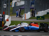GP GERMANIA, 31.07.2016 - Gara, Romain Grosjean (FRA) Haas F1 Team VF-16 e Pascal Wehrlein (GER) Manor Racing MRT05