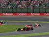 GP GIAPPONE, 09.10.2016 - Gara, Daniel Ricciardo (AUS) Red Bull Racing RB12 davanti a Kimi Raikkonen (FIN) Ferrari SF16-H e Lewis Hamilton (GBR) Mercedes AMG F1 W07 Hybrid