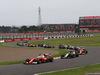 GP GIAPPONE, 09.10.2016 - Gara, Sebastian Vettel (GER) Ferrari SF16-H davanti a Nico Hulkenberg (GER) Sahara Force India F1 VJM09