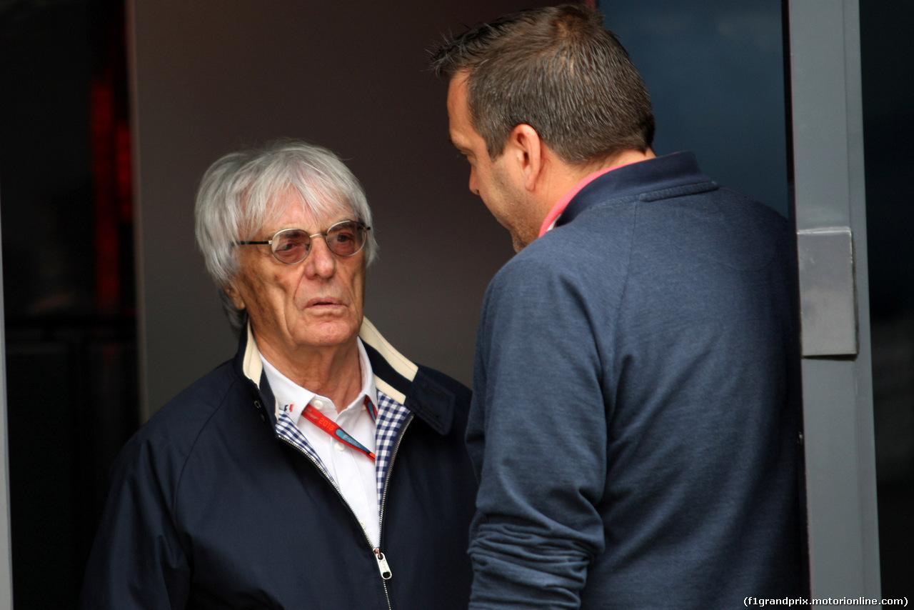 GP GRAN BRETAGNA, 10.07.2016 - Gara, Bernie Ecclestone (GBR), President e CEO of FOM