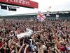 GP GRAN BRETAGNA, 10.07.2016 - Gara, Lewis Hamilton (GBR) Mercedes AMG F1 W07 Hybrid vincitore